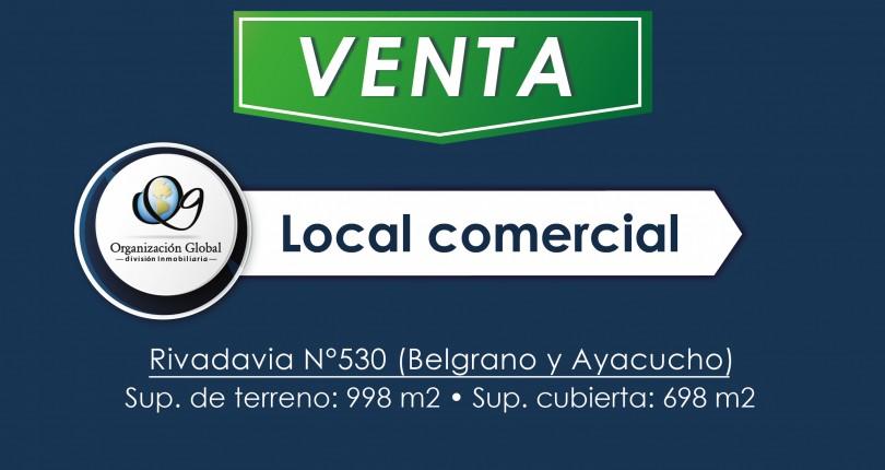 Local Comercial en Rivadavia n° 530 (Peatonal)