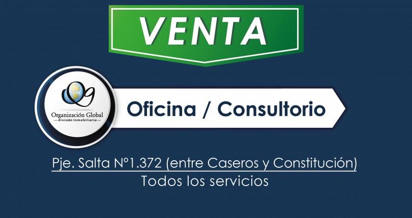 Oficinas / Consultorio en Pje. Salta n° 1.372